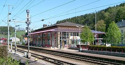 How to get to Gare Troisvierges with public transit - About the place