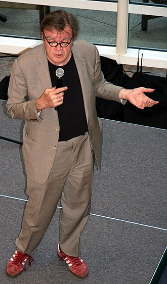 Garrison Keillor - Keillor in 2010, wearing his signature red shoes