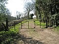 Gate on the Sussex Border path at Finchdean - geograph.org.uk - 1230155.jpg