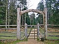 Gateway, Blackwater Arboretum, New Forest - geograph.org.uk - 320032.jpg