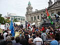 Gaza flotilla clash demonstration in Belfast 1.jpg