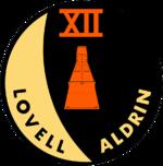 Missionsemblem Gemini 12