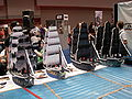 Gen Con Indy 2007 exhibit hall - Pirates! large scale models.JPG
