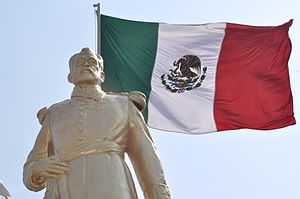 Felipe Berriozábal - Statue of Berriozábal located in Coacalco de Berriozábal, State of Mexico