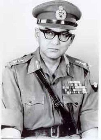 Gopal Gurunath Bewoor - Image: General Gopal Gurnath Bewoor