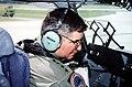 General Ronald R. Fogleman piloting a Boeing C-17 Globemaster III.jpg