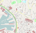 Genova center map OSM 5000 scale.png