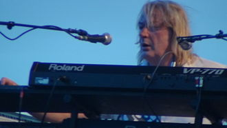 The Age of Plastic - Image: Geoff Downes performing at the Lowistown Art Center