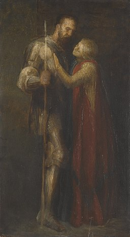George Frederic Watts - Knight and Maiden