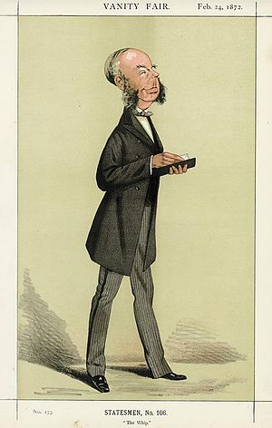 George Glyn, 2nd Baron Wolverton - Image: George Grenfell Glyn Vanity Fair 24 February 1872