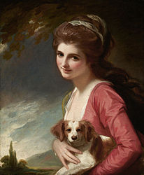 George Romney: Lady Hamilton as 'Nature'