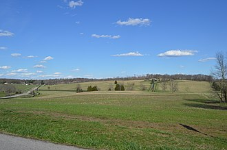 Greenville Township, Floyd County, Indiana - Fields south of Greenville