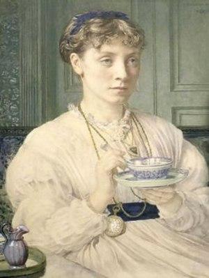 MacDonald sisters - Georgiana Burne-Jones, around 1870, by her brother-in-law Edward Poynter