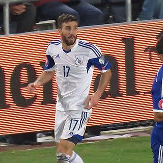 Georgios Efrem Cypriot international footballer