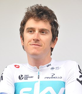 Geraint Thomas Welsh racing cyclist