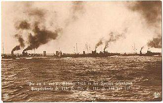 Battle off Texel - Image: German Seventh Half Flotilla