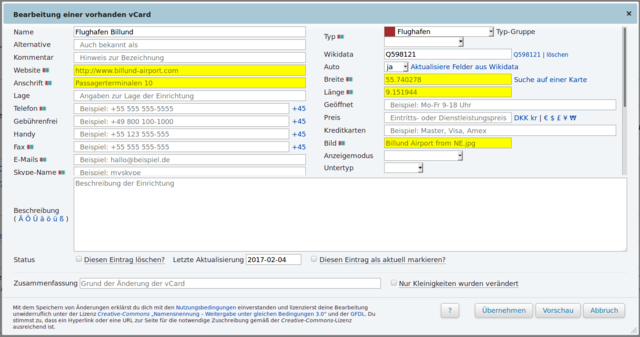 File:German Wikivoyage listing editor filling fields automatically