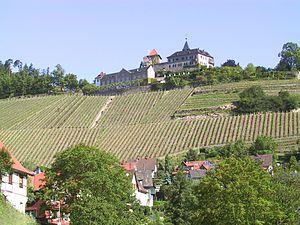 County of Eberstein - Image: Gernsbach Schloss Eberstein von Der Bruzzla