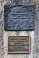Gertrude Stein's house (Billignin) - two plaques.jpg