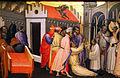 Gherardo starnina, sant'ugo di lincoln esorcizza un indemoniato, 1404-07, 03.JPG