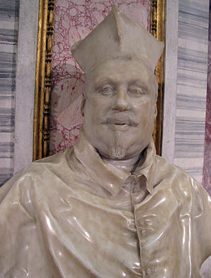 Two Busts of Cardinal Scipione Borghese - Second version