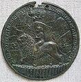 Gianfrancesco enzola, allegoria della virtù voltata a sinistra, anni 1460.JPG