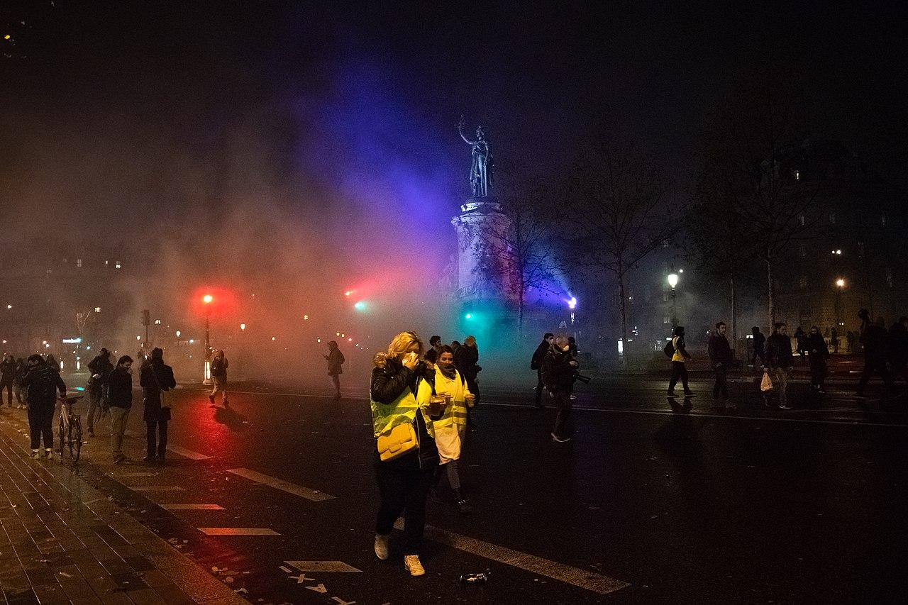 Gilets jaunes acte 4 Paris 2018-12-08.jpg