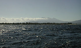 Gili Meno and Gunung Rinjani from a boat off Gili Trawangan.jpg