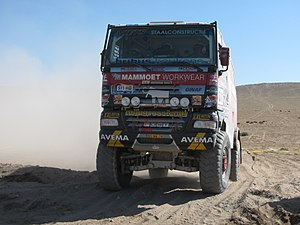 Group T4 - A Ginaf X2222 at the 2011 Dakar Rally.