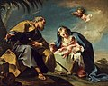 Giovanni Battista Pittoni - The Rest on the Flight into Egypt - WGA17975.jpg