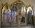 Giovanni del biondo, annunciazione e i santi nicola e antonio abate.JPG