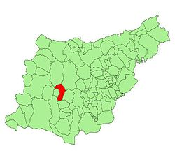 Location of Zumarraga