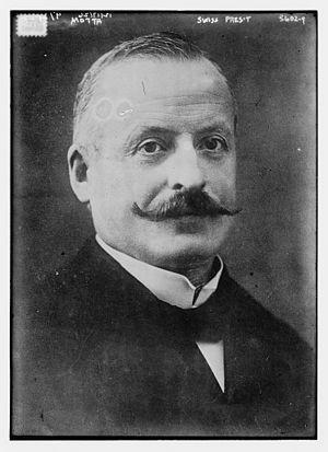 Giuseppe Motta - Motta circa 1915