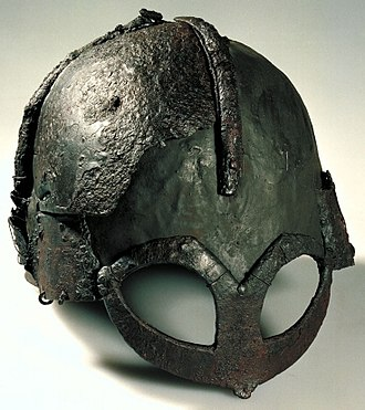 Norway - The Gjermundbu helmet found in Buskerud is the only known reconstructable Viking Age helmet