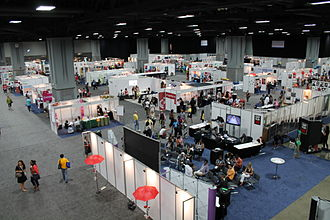 International AIDS Society - Image: Global Village at 2012 International AIDS Conference