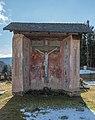 Gnesau Zedlitzdorf Friedhof Kapelle mit Kruzifix 09122015 9454.jpg