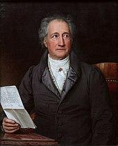 Johann Wolfgang von Goethe Ölgemälde von Joseph Karl Stieler (Quelle: Wikimedia)