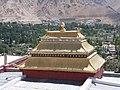 Gold painted roof near Shanti Stupa, Leh.jpg