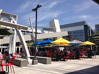 Google - Google's headquarters, the Googleplex, in August 2014