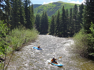 Gore Creek (Colorado) - Gore Creek in June, 2014
