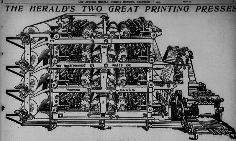 File:Goss quadruple straightline printing press, 1905 drawing.png