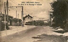 Ancien tramway de lyon wikip dia - Bureau de poste villeurbanne ...