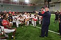 Governor Visits University of Maryland Football Team (36114523333).jpg