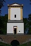 foto van Mausoleum, voor Van Nellestein, door J.D.Zocher gebouwd, welke tevens tot uitzichttoren dienst doet op de Donderberg.
