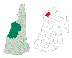 Lyman, New Hampshire - Image: Grafton Lyman NH