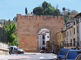 Granada - Arco/Puerta de Elvira in Granada