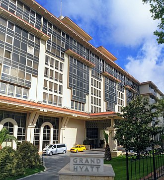 Hyatt - The Grand Hyatt Hotel in Istanbul