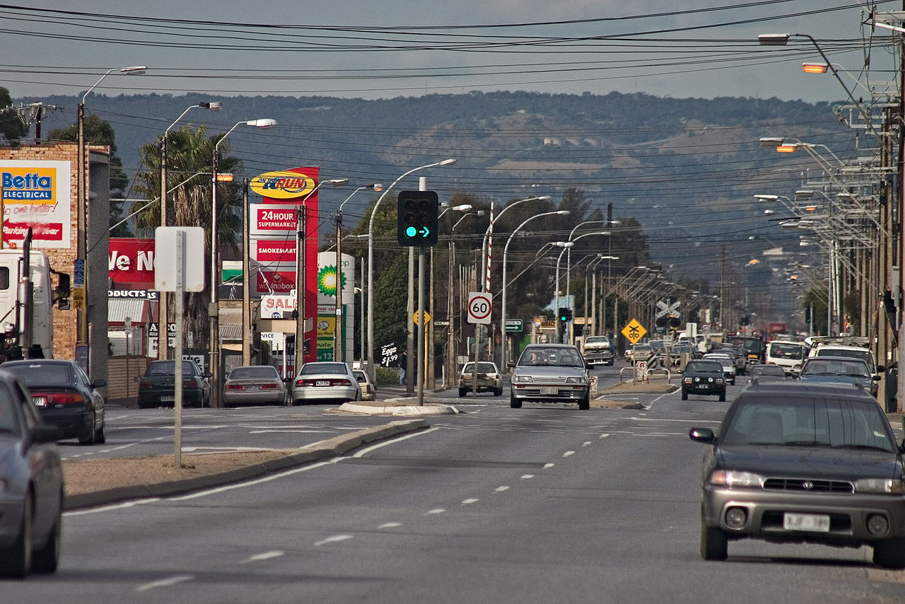Grand Junction Road Adelaide Wikimedia Commons