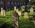 Gravestones, Kenton - geograph.org.uk - 1570295.jpg