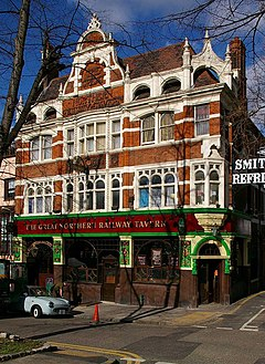 Great Northern Railway Tavern, Hornsey High Street - geograph.org.uk - 354363.jpg
